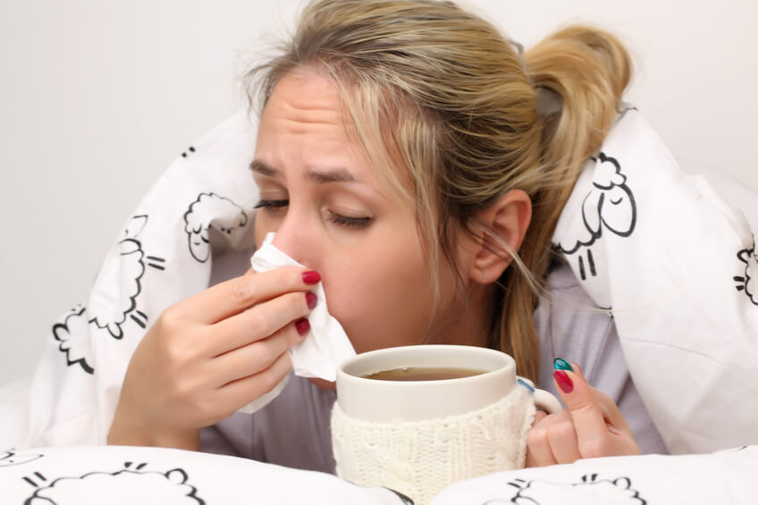 no contraer gripe